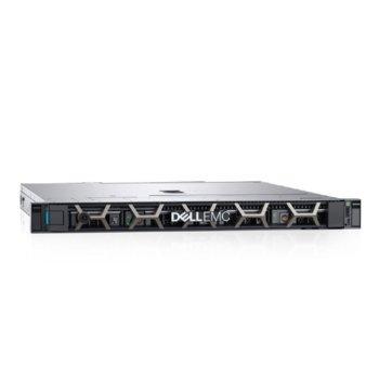 Сървър Dell PowerEdge R240 (PER240CEEM03), четириядрен Coffee Lake Intel Xeon E-2234 3.6/4.8 GHz, 16GB UDIMM, 480GB SSD, 2x 1GbE LOM, 3x USB 3.0, 450W PSU  image