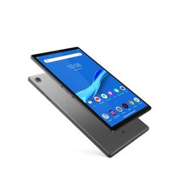 "Таблет Lenovo Tab M10 Plus LTE (ZA5V0183BG), 10.3"" (26.162 cm) Full HD дисплей, осемядрен Helio P22T 2.3GHz, 4GB DDR4, 64GB Flash памет(+microSD слот), 8.0 & 5.0 Mpix камера, Android 9.0, 530g image"