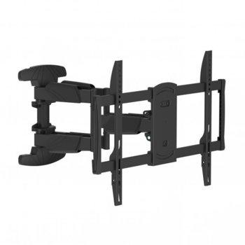 Стойка за телевизор SBOX PLB-5466, екран от 37 до 70 инча, VESA до 600Х 400, тегло до 45кг., черна image