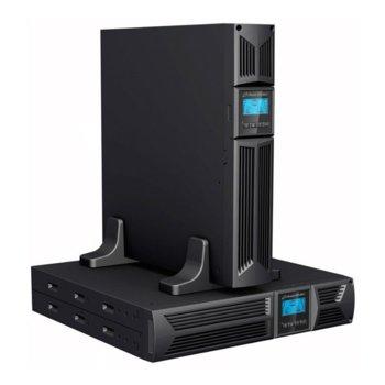 UPS Powerwalker VI 1500RT LCD UPS, 1500VA/1350W, Line-Interactive, Rack image