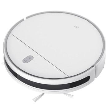 Прахосмукачка Xiaomi Mi Robot Vacuum Mop Essential, робот, безжична, 0.42 л. капацитет на контейнера/0.2 л. на резервоара за вода, 2200 Pascal смукателна мощност, Wi-Fi, с моп, бяла image
