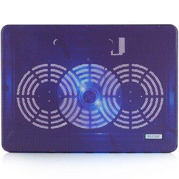 "Охлаждаща поставка за лаптоп Logic LCP-09, за лаптоп до 15,6""(39.62cm), лилава image"