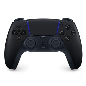 Геймпад Sony PlayStation DualSense (Midnight Black), за PlayStation 5, Wireless, черен image