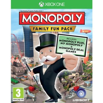 Monopoly Family Fun Pack  product