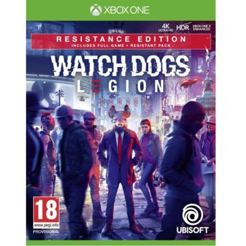 Watch Dogs: Legion - Resistance Edition Xbox One product
