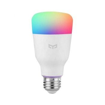 LED смарт крушка Xiaomi Yeelight (YLDP13YL), E27, 8.5W, 800lm, Wi-Fi, 6500K цветна температура, съвсместива с Android/iOS, RGB image
