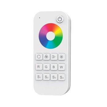 LED RGBW контролер Elmark EM99RGBREMOTE1, 30m обхват, RF(2.4GHz) 58.5mm изходящ сигнал, 1 зони image