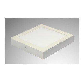 LED панел, ORAX O-P2222-18W-NW, 18W, AC 220V, 1400 lm, неутрално бяла, повърхностен монтаж image