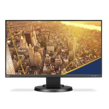 """Монитор NEC E221N (60004224), 22"""" (55.88 cm) IPS панел, Full HD, 6 ms, 250 cd/m2, DisplayPort, HDMI, VGA image"""