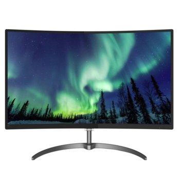 """Монитор Philips 328E8QJAB5, 31.5"""" (80.01 cm) Full HD, VA LCD, 5ms, 20 000 000:1, 250cd/m², DisplayPort, HDMI, VGA image"""