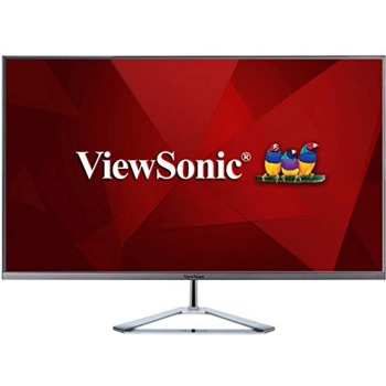 "Монитор ViewSonic VX3276-4K-MHD, 32"" (81.28 cm) VA панел, 4K/UHD, 4ms, 80 000 000:1, 300cd/m2, DisplayPort, HDMI image"