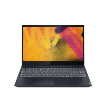 "Лаптоп Lenovo Ideapad S340-15IML (81NA0020BM)(син), четириядрен Comet Lake Intel Core i5-10210U 1.6/4.2 GHz, 15.6"" (39.62 cm) Full HD IPS Anti-Glare Display & MX250 2GB, (HDMI), 8GB DDR4, 512GB SSD, 1x USB 3.1 Type-C, No OS image"