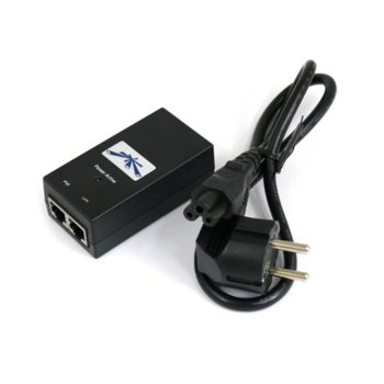 PoE инжектор Ubiquiti POE-24-12W-G, Gigabit LAN порт, 24V, 12W image