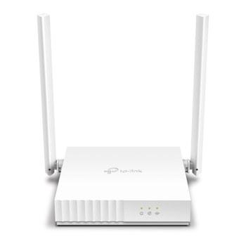 Безжичен рутер TP-LINK TL-WR820N, 300 Mbps, Wireless n, 2x LAN, 1x WAN, 2x 5dBi външни антени, бял image