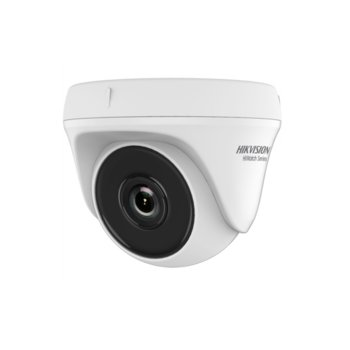 HDCVI камера HikVision HWT-T140-P, куполна камера, 4.0MP (2560×1440@30fps), 2.8/3.6/6 mm обектив, IR осветление (до 20m), вътрешна image