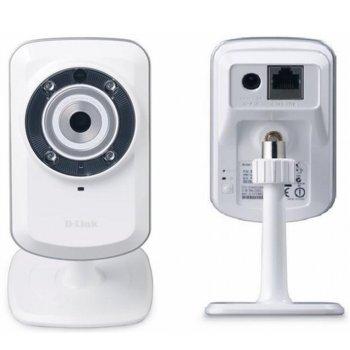 IP камера D-Link DCS-932L, 0.3Mpix, мрежова, Securicam, Home IP Network Camera, WPS, IR  image