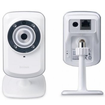 IP камера D-Link DCS-932L, 0.3Mpix, мрежова, Securicam, Home IP Network Camera, WPS, IR  image