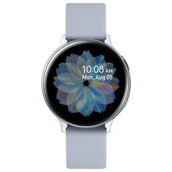 "Смарт часовник Samsung Galaxy Active 2 R820 (SM-R820NZS), 1.4"" Super AMOLED дисплей, Bluetooth v5.0, NFC, Wi-Fi, IP68, сребрист image"