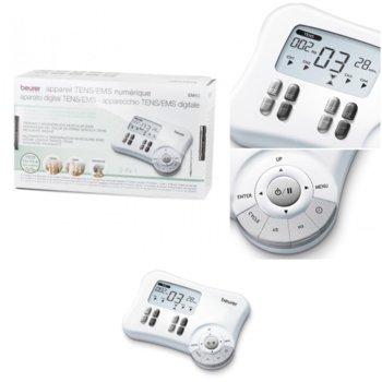 Масажор за цяло тяло Beurer EM 80, таймер, автоматично изключване, LCD дисплей, бял image