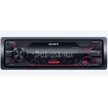 Аудио система за кола Sony DSX-A210UI, 4x 55W, AUX, USB, вграден тунер за AM/FM радио, червена подсветка image