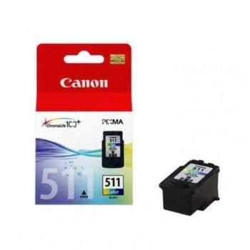 ГЛАВА CANON PIXMA MP240/ MP260/ MP480 - Color ink cartridge - CL-511 - P№2972B001 - заб.: 9ml. image