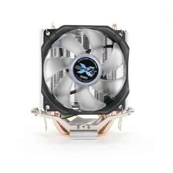 Охлаждане за процесор Zalman CNPS7X LED+, съвместимост с Intel LGA Socket 1150, 1151, 1155, 1156, AMD Socket AM2/ AM2+/ AM3/ AM3+/ FM1/ FM2/ FM2+ image