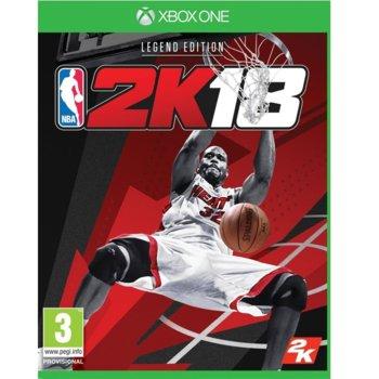 Игра за конзола NBA 2K18 Shaq Legend Edition, за Xbox One image