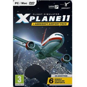 Игра X-Plane 11 & Aerosoft Airport Collection, за PC image