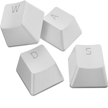 Капачки за механична клавиатура Razer PBT Keycap Upgrade Set (RC21-01490200-R3M1), за ANSI/104 и ISO/105 клавиатури, бели image