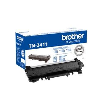 Тонер касета за Brother DCP-L2512D/DCP-L2532DW/DCP-L2552DN/HL-L2312D/HL-L2352DW/HL-L2372DN/MFC-L2712DN/MFC-L2712DW/MFC-L2732DW - Black - P№ TN-2411 - заб.:1 200 брой копия image