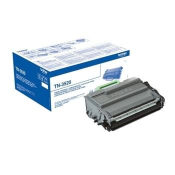 Тонер касета за Brother HL-L6400DW, Black - TN3520, 20 000 брой копия image