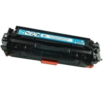 Тонер касета за HP COLOR LASER JET CP2025/CM, Cyan, - CC531A/CRG - G&G - неоригинален, Заб.: 2800 брой копия image