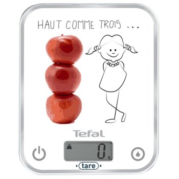 Кухненски кантар Tefal BC5134V0, дигитален, до 5 кг., автоматично изключване, бял image