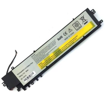 Батерия (заместител) за Лаптоп Lenovo IdeaPad Yoga 2, Pro Lenovo S41-70/Y40-70/Y40-80/Y50-70/Y50p-70, 6.4V, 6600 mAh image