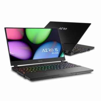 "Лаптоп Gigabyte Aero (SA-7US5020SH), шестядрен Coffee Lake Intel Core i7-9750H 2.6/4.5 GHz, 15.6"" (39.62 cm) Ultra HD/4K AMOLED Display & GTX 1660 Ti 6GB, (DP), 16GB DDR4, 256GB SSD, 1x Thunderbolt 3, Windows 10 Home image"