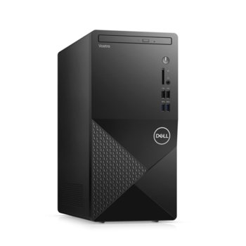 Настолен компютър Dell Vostro 3888 MT (N113VD3888EMEA01_2101_UBU_M), шестядрен Comet Lake Intel Core i5-10400 2.9/4.3 GHz, 8GB DDR4, 1TB HDD, 4x USB 3.1 Gen 1, клавиатура и мишка, Linux image