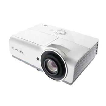 Проектор Vivitek DH833, DLP, 3D Ready, Full HD (1920x1080), 15000:1, 4500 lm, 3x HDMI, VGA, RJ-45, USB, бял image