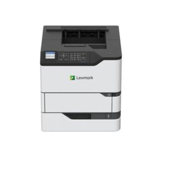 "Лазерен принтер Lexmark MS823dn, монохромен, 1200 x 1200 dpi, 61 стр/мин, LAN1000, USB, двустранен печат, A4, 2.4"" (6.096 cm) цветен дисплей image"