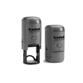 Автоматичен печат Trodat Printy 46019 черен, Ф19 mm, кръгъл image