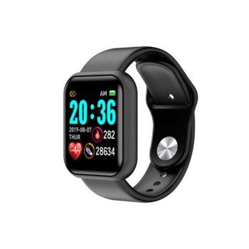 Смарт гривна S6, 38mm, Bluetooth V5.1, IP67, Различни цветове image