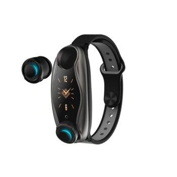 Смарт гривна T89, 26mm, Bluetooth V4.2, слушалки, IP67, Различни цветове image