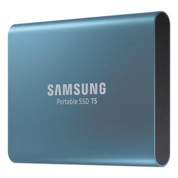 Памет SSD 500GB Samsung T5, USB 3.1 Gen2, скорост на четене до 450 MB/s, скорост на запис до 450 MB/s image
