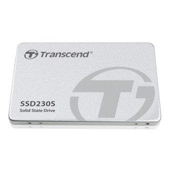 """Памет SSD 256GB Transcend SSD230S, SATA 6Gb/s, 2.5""""(6.35 cm), скорост на четене 560 MB/s, скорост на запис 520 MB/s image"""