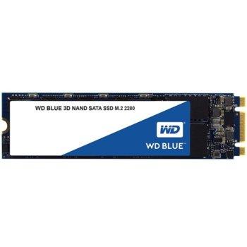 Памет SSD 250GB Western Digital S250G2B0B, SATA 6Gb/s, M.2 (2280), скорост на четене 550MB/s, скорост на запис 525MB/s image