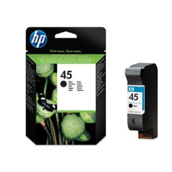 ГЛАВА HP DeskJet 710C/720C/820Cxi/850C/ 815C/OfficeJet 1150C/1170C - Black - P№ 51645AE - заб.: 42ml image