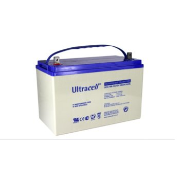 Акумулаторна батерия Ultracell UCG100-12, 12V, 100 Ah, VRLA image