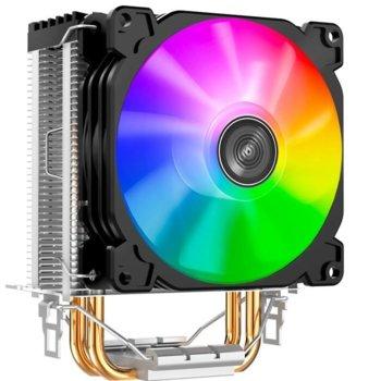 Охлаждане за процесор Jonsbo CR-1200, съвместимост със сокети LGA LGA775/1200/1150/1151/1155/1156 & AMD AM4/AM3+/AM3/AM2+/AM2/FM2+/FM2/FM1 image