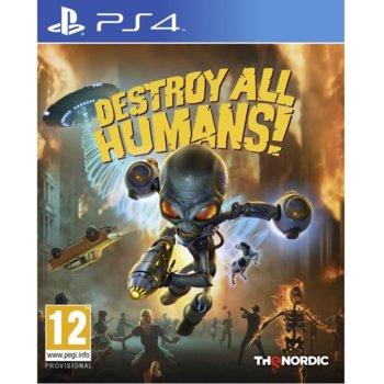 Игра за конзола Destroy All Humans!, за PS4 image