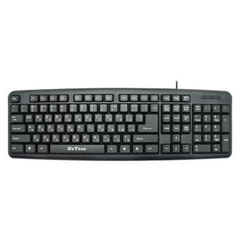 Клавиатура DeTech DE6082, кирилизирана, черна, USB image