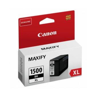 ГЛАВА ЗА CANON MAXIFY MB2050, MAXIFY MB2350 - PGI-1500XL Black - P№ BS9182B001AA - заб.: 34.7ml. image